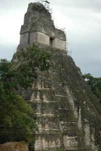Mayan Temple at Tikal, Peten, Guatemala