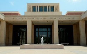 George W. Bush Presidential Library and Museum in Dallas, TX