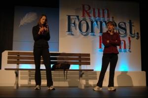 Run, Forrest, Run - Sketch 6 - Jen Tevis & Tiffany Hadden
