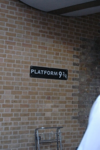 Platform 9 3/4 at Kings Cross Station, London