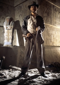 Indiana Jones, Raiders of the Lost Ark, 1981 (Harrison Ford)