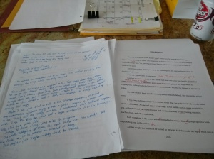 Editor's notes and my solutions from the Nameless manuscript