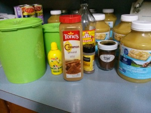 Everything you need for easy crockpot apple butter