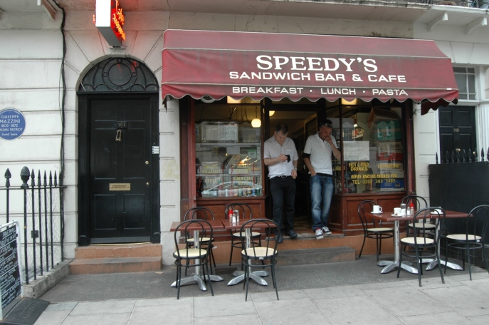 187 N. Gower Street (aka 221B Baker Street in BBC's Sherlock)