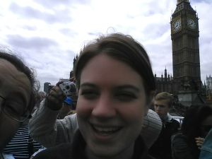Me and the Nomad and Big Ben (I fail at selfies)