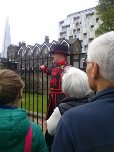 "Steve the Yeoman Warder (aka ""Beefeater"")"