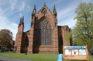 Carlisle Cathedral in Carlisle, Cumbria, UK