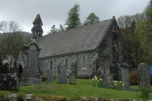 """The """"new"""" church at Balquhidder, Scotland"""