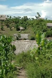 Kekchi homes in the Guatemalan village of El Fuerzo Dos (ACW 2011)