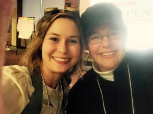 Amy Davis and Me at Realm Makers 2015