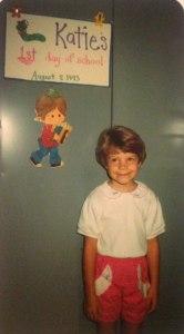 Katie in 1993