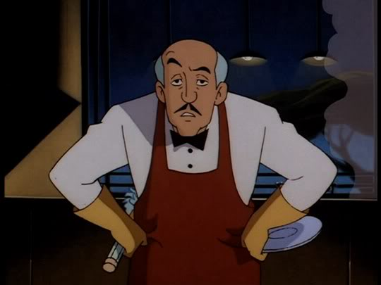 Alfred Pennyworth from Batman: The Animated Series (copyright DC Comics and Warner Bros.)